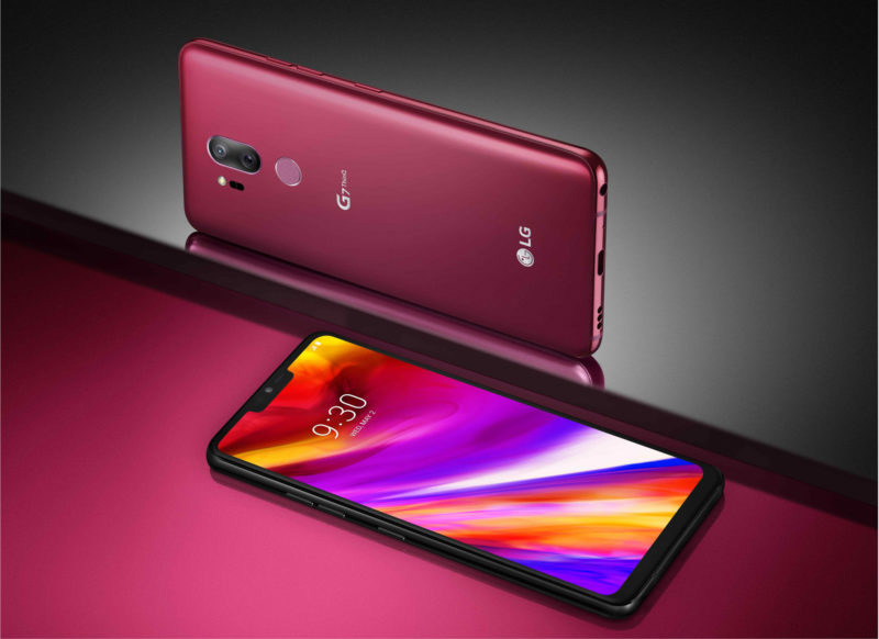 LG G7 ThinQ Android Oreo Google