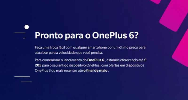 OnePlus 6 Android Oreo Google programa de trocas