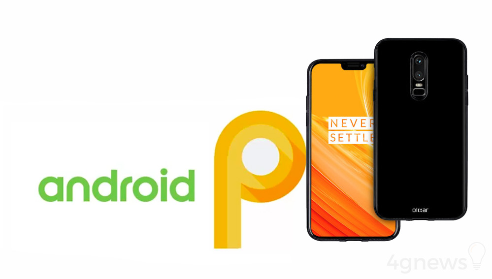 OnePlus 6 Android P Google