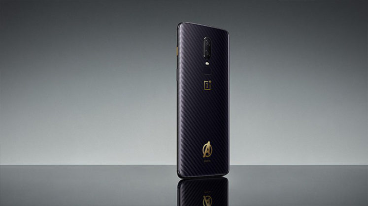 OnePlus 6 Avengers Infinity War Limited Edition