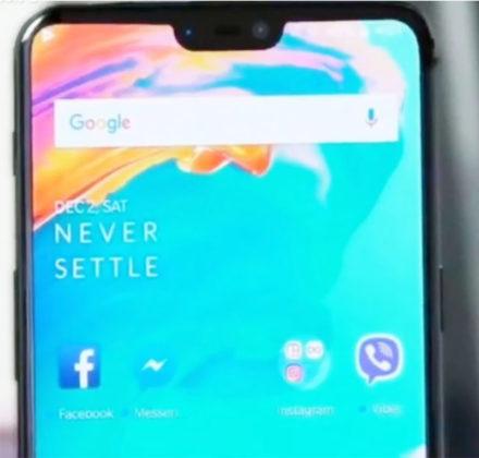 OnePlus 6 OnePlus 5T Android Oreo Google 3