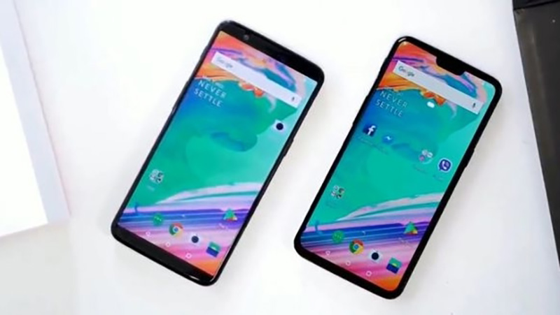 OnePlus 6 OnePlus 5T Android Oreo Google Apple iPhone X