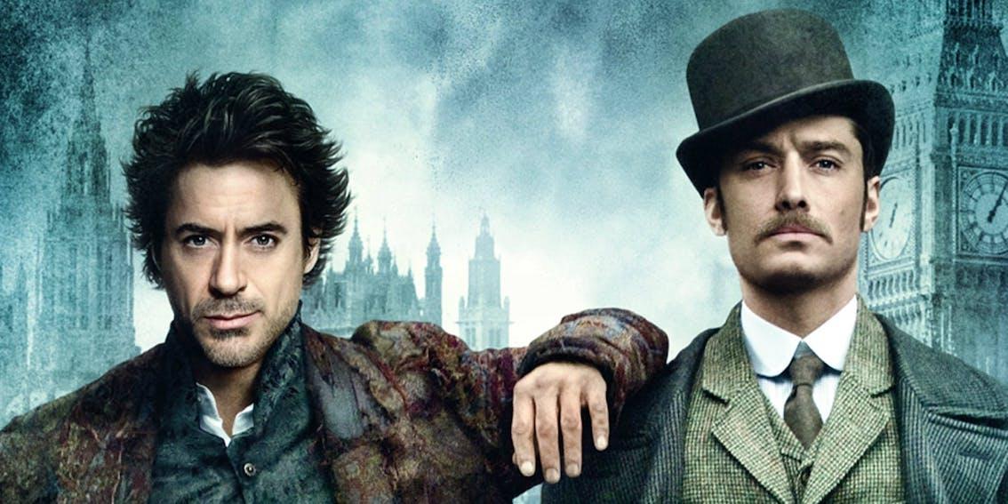 Robert Downey Jr. Warner Bros. Filme Sherlock Holmes