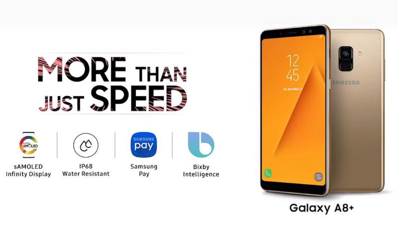 Samsung Galaxy A8 OnePlus 6
