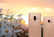 Samsung Galaxy S9 Plus Dourado Amanhecer