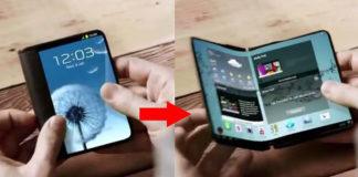 Samsung Galaxy X MWC 2019 smartphone dobrável