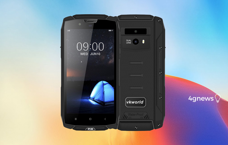 Android. Super resistente Vkworld VK7000 já está à venda