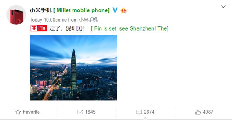Xiaomi Mi 7 Android Oreo Google