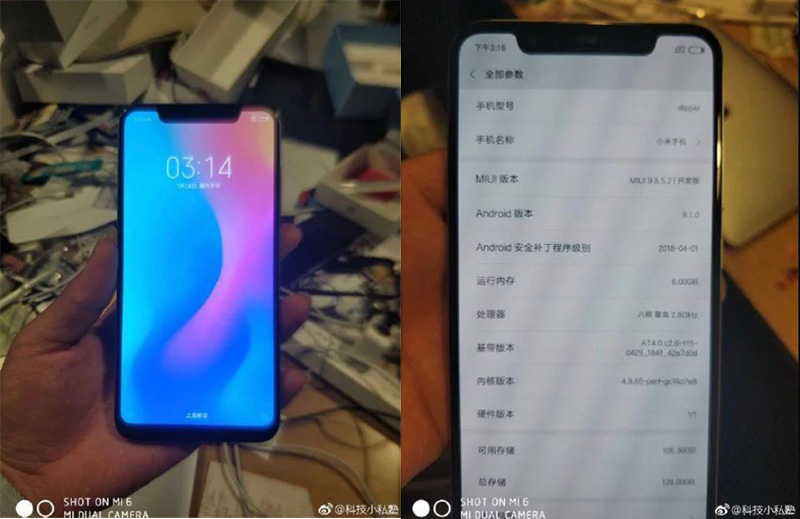 MIUI 10 Xiaomi Mi 8 Xiaomi Mi 7 Android Oreo Google capa