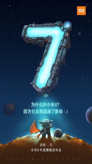 Xiaomi Mi 8 Android Oreo Google Mi 7
