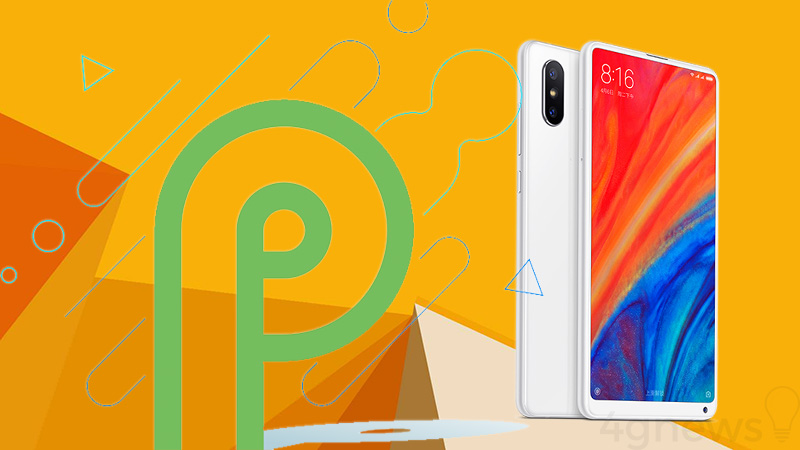 Xiaomi Mi MIX 2S Android P Google