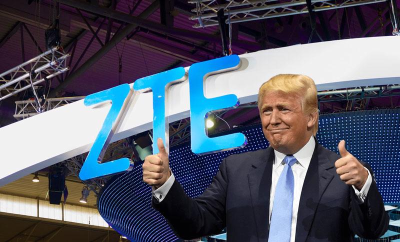 Android. Donald Trump está a trabalhar reverter a situação da ZTE