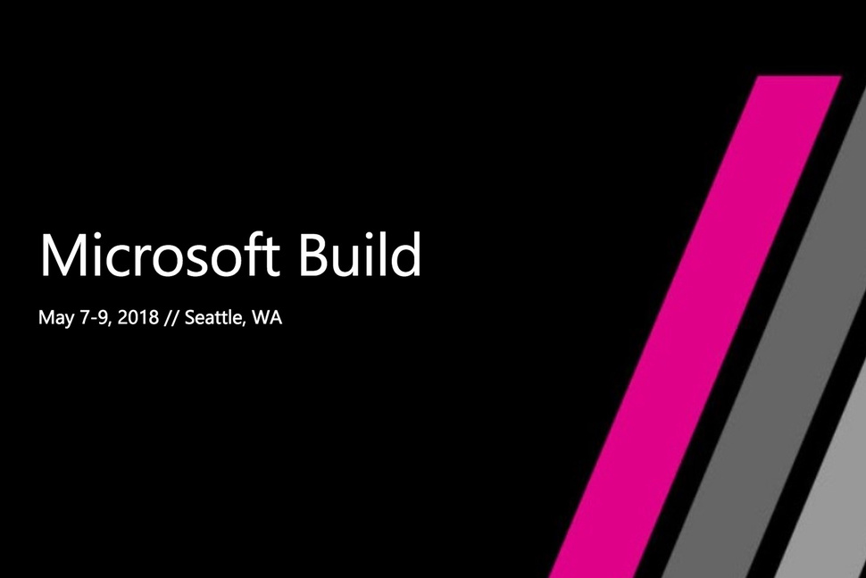 Microsoft Build 2018 Windows 10
