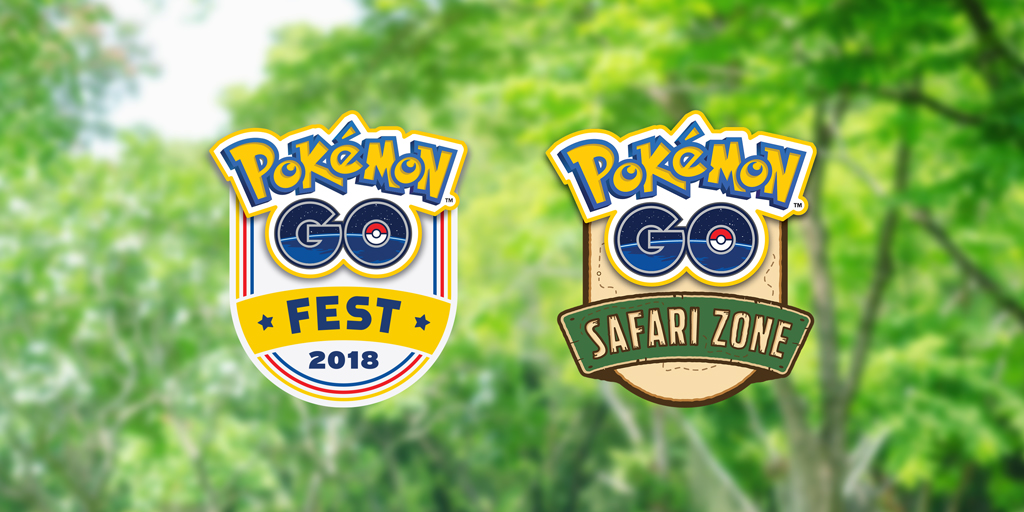 Pokémon GO Fest 2018 Safari Zone