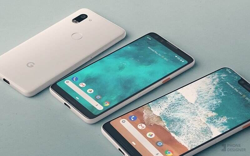 Google Pixel 3 XL Android notch