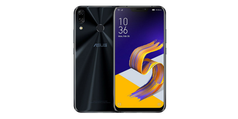 ASUS ZenFone 5Z Android Oreo Snapdragon 854 Qualcomm
