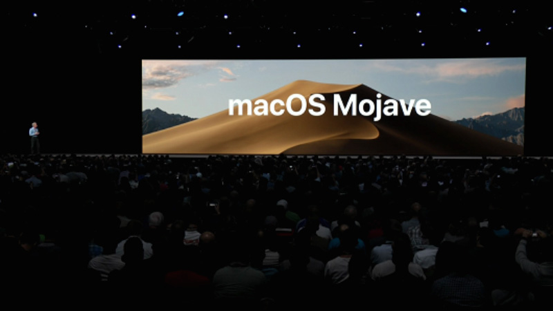 Apple WWDC 2018 Mojave macOS 6