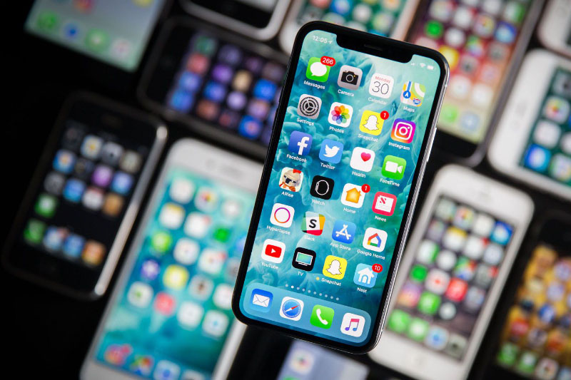 Apple iPhone X Samsung Android Oreo Google Apple iOS 12 WWDC 2018