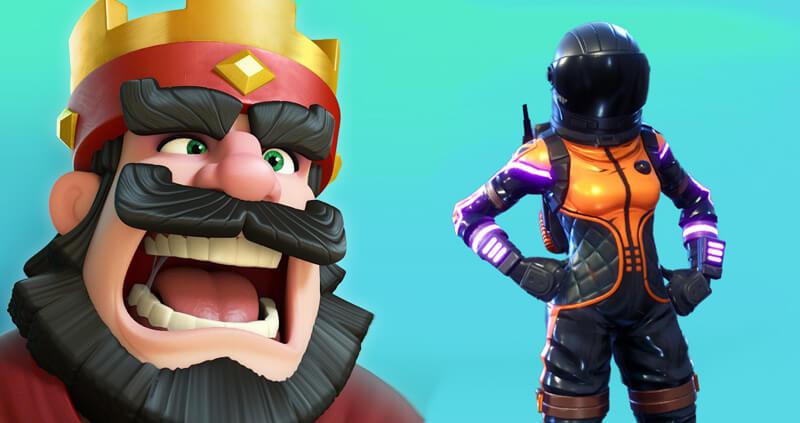 Fortnite e Clash Royale são os jogos de smartphone que mais faturam