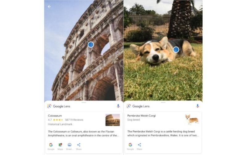 Google Lens Sony Xperia XZ2 Compact