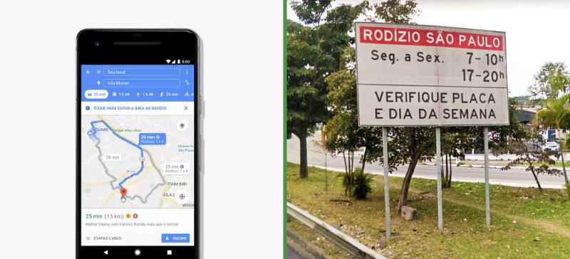 Google Maps Android Go Brasil