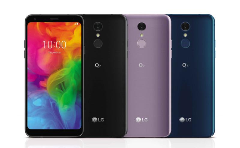 LG Q7 Android Oreo smartphone Google