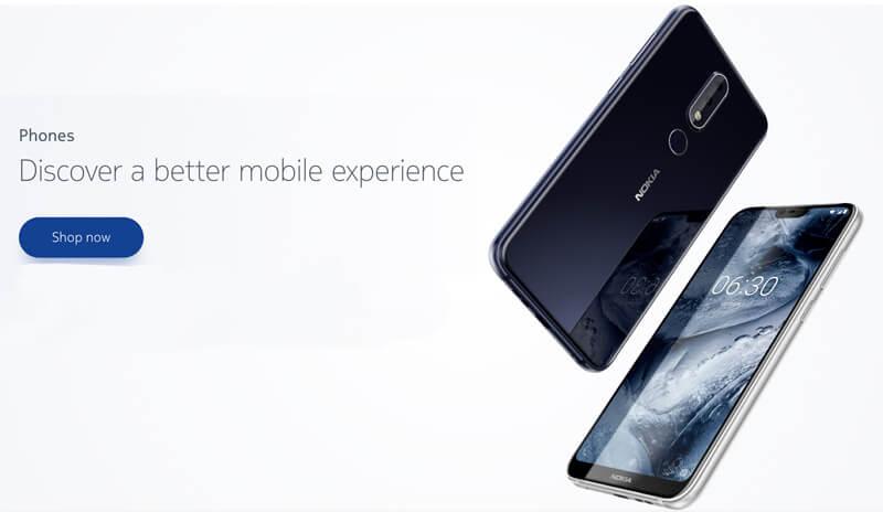 Nokia 5.1 Nokia X5 Android Oreo HMD Google Nokia X6 Nokia 6.1