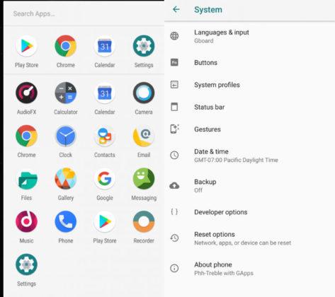 OnePlus 6 LineageOS 15.1 Android Oreo Google