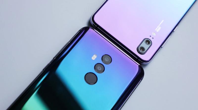 Android. Umidigi compara o seu Umidigi Z2 ao Huawei P20
