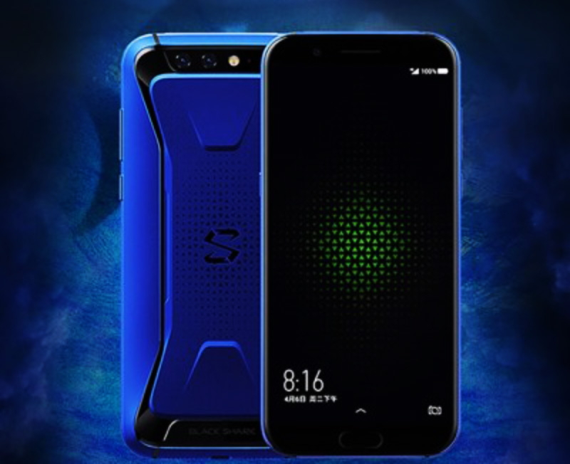 Xiaomi Black Shark Android Oreo novo azul Gaming
