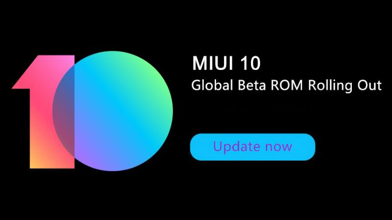 Xiaomi MIUI 10 Android Oreo Global Beta ROM smartphones