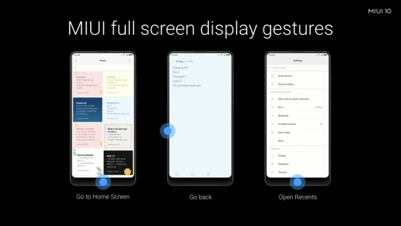 Xiaomi MIUI 10 Global Beta Android Oreo 1