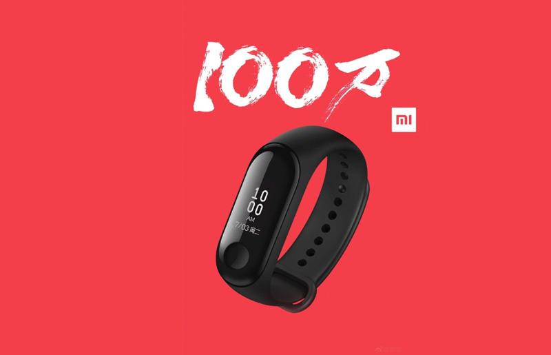 Xiaomi Mi Band 3: 1 milhão de unidades vendidas em apenas 17 dias
