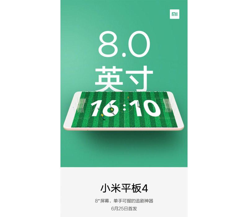 Xiaomi Mi Pad 4 Android Oreo Google