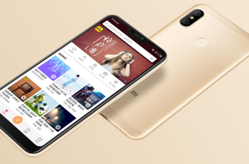 Xiaomi Redmi 6 Pro Android Oreo MIUI 5