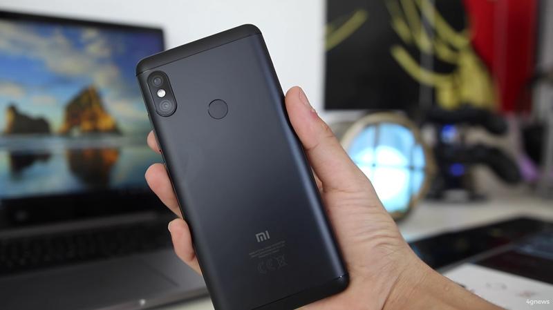 Xiaomi Redmi Note 6: Imagem mostra o ecrã com uma notch reduzida