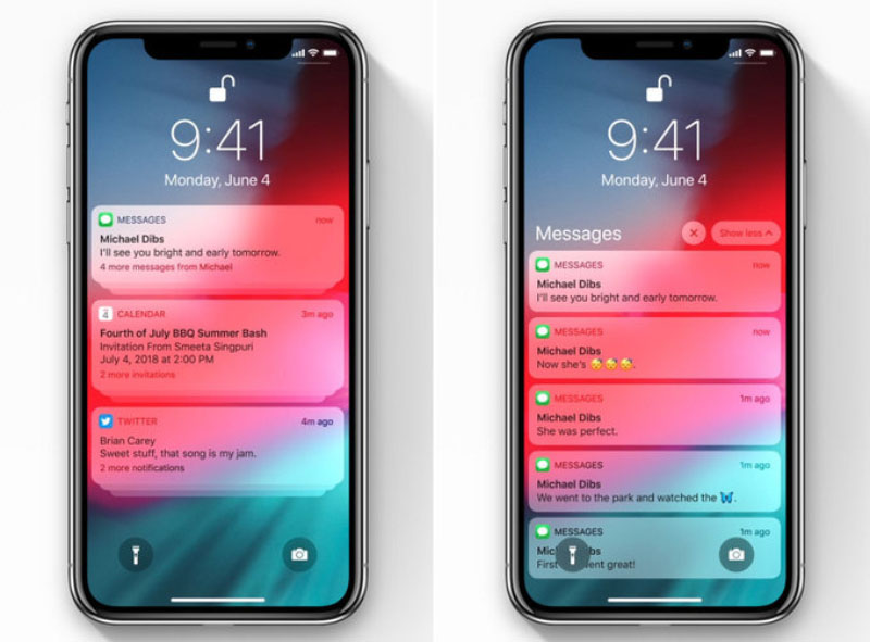 iPhone iPad iOS 12 WWDC 18 Apple