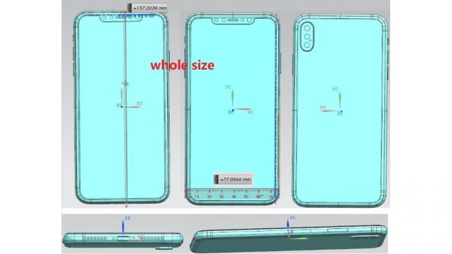 Suposto design do iPhone 9 e sucessor do Apple iPhone X revelado