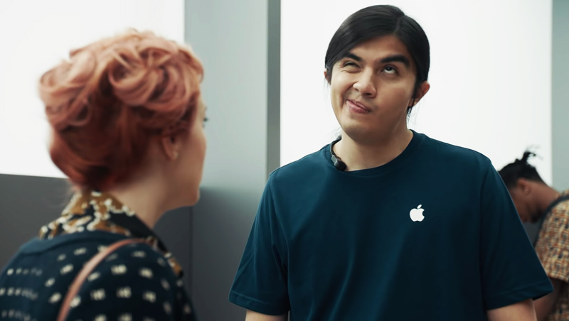 Samsung ataca o iPhone X da Apple no seu último comercial