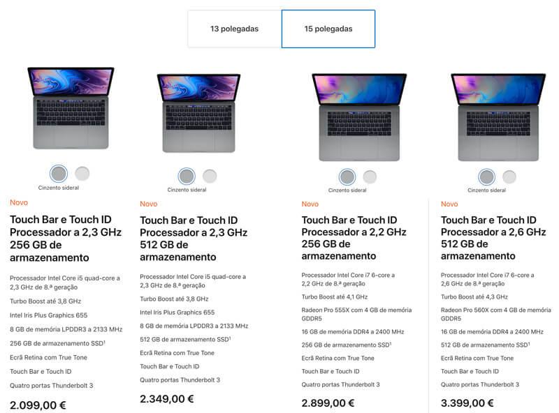 Apple: Novos Macbook Pro 2018 revelados oficialmente - 4gnews