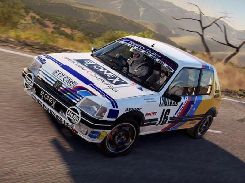 Codemasters rally cross Dirt 4