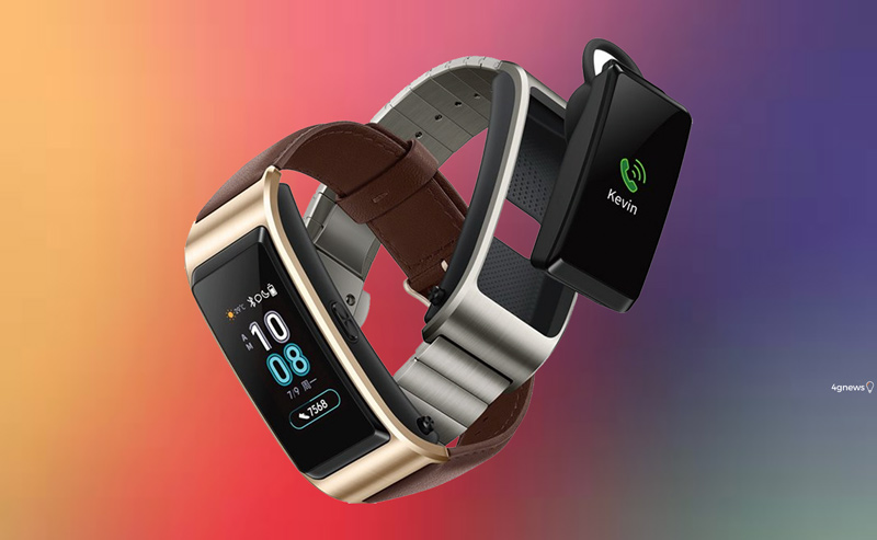pulseira inteligente Huawei TalkBand B5