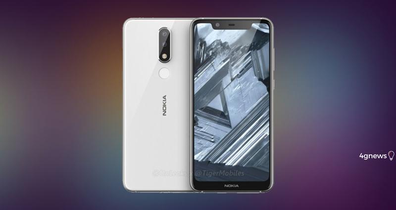 Android. Nokia 5.1 chegará com um design diferente ao antecessor