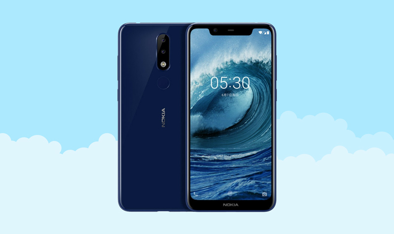 HMD Global Android One Google Nokia 5.1 Plus