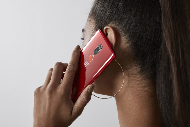 OnePlus 6T OnePlus 6 Android Oreo OxygenOS Vermelho smartphone