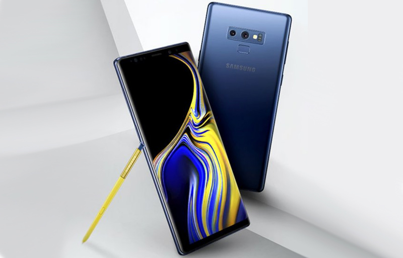 Samsung Galaxy Note 9 Android Oreo Google