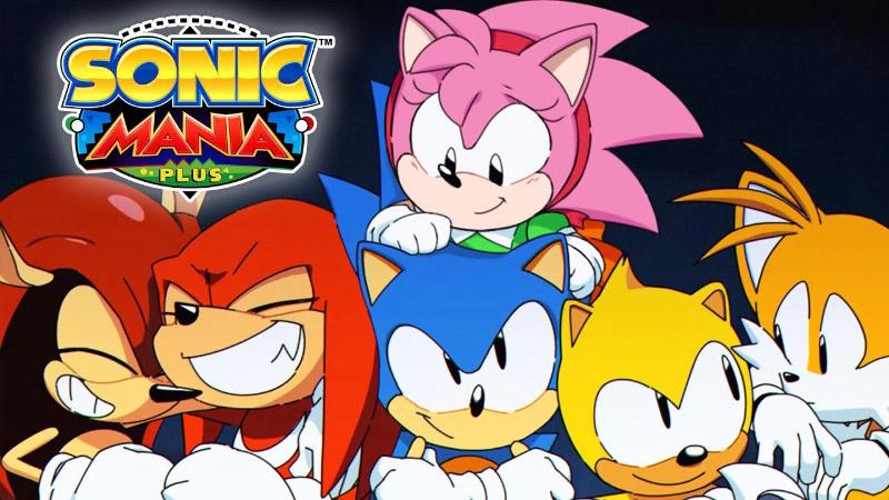 Sonic Mania Plus Sega MegaDrive 1 PlayStation