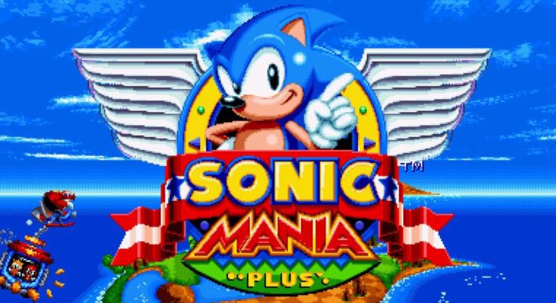Sonic Mania Plus Sega MegaDrive PlayStation