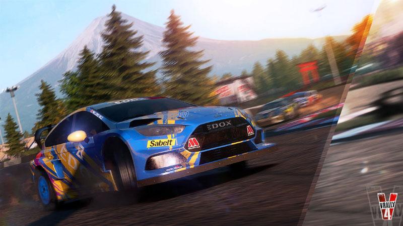 V-Rally 4, V-Rally, Bigben Interactive, veículos, troços veículos troços