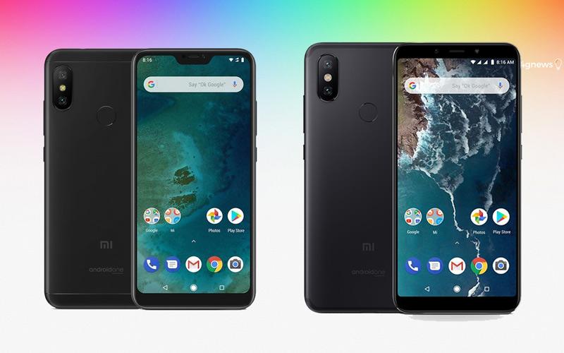 Xiaomi Mi A2 e Mi A2 Lite já podem ser comprados na pré-venda